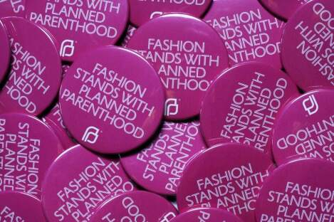 Fashion World gives back to Planned Parenthood. Only One brand counters for life