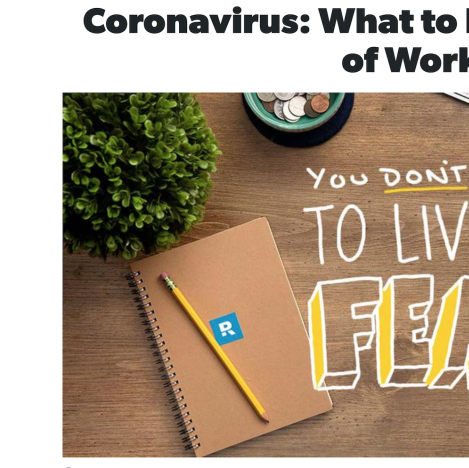 Coronavirus: What to Do if You're Out of Work