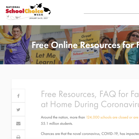 Free Resources, FAQ for Families Educating at Home During Coronavirus Pandemic