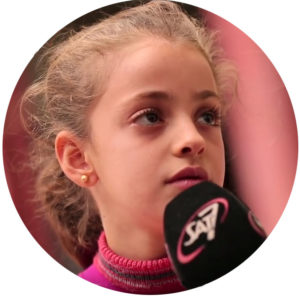 9-year-old Myriam